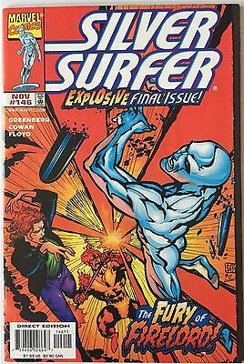 Silver Surfer 146 Final Issue Avengers Fantastic Four Galactus Firelord HTF NM