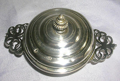 Antique Augsburg Silver Lided Dish Made in Bavaria Pre. 1730.