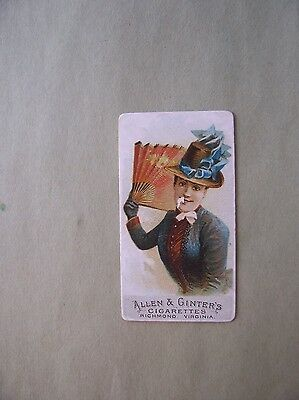 N7 A&g Fans Of The Period Tobacco Card Number 3