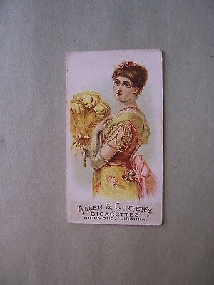 N7 A&g Fans Of The Period Tobacco Card Number 8