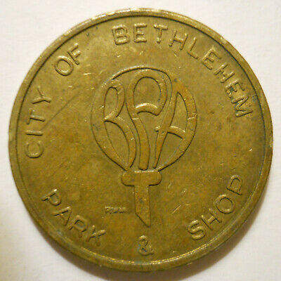 Bethlehem, Pennsylvania parking token - PA3085G