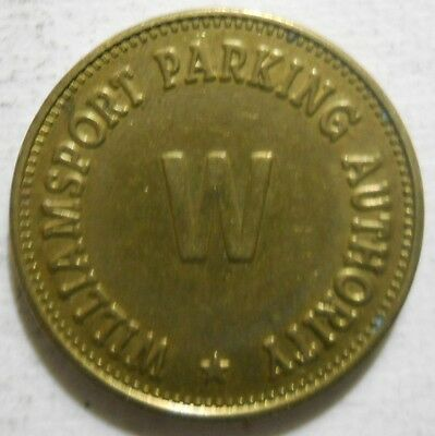 Williamsport Parking Authority ( Pennsylvania) paking token - PA3990E