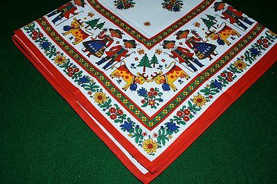 Kolf Austrian folk art table cloth