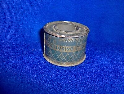 Vintage Zinc Oxide Adhesive Plaster Spool (Mfg. by F.W. McNess)