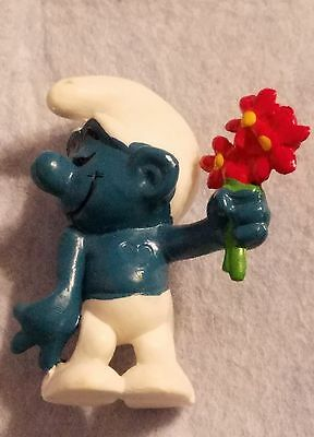 Vintage Smurf Schleich Hong Kong Mold 2 1979