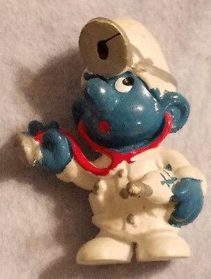 Vintage Smurf Doctor Mold 2 Schleich W. Germany