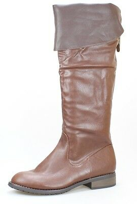 Bucco NEW Brown Shoes Size 8.5M Tywin Over the Knee Boots $120 #041 DEAL