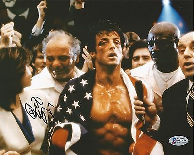 Burt Young Autographed Signed Rocky Paulie Sylvester Stallone Bas Coa 8X10 Photo