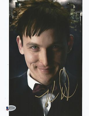 Robin Lord Taylor Autographed Signed Gotham The Penguin Bas Coa 8X10 Photo