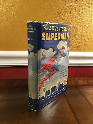 """1942 1st Edition/Printing """"THE ADVENTURES OF SUPERMAN"""" by George Lowther"""
