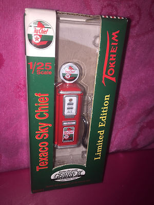 TEXACO SKY CHIEF 1950's GEARBOX GAS PUMP LIMITED EDITION DIECAST TEXICO SKY