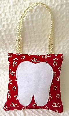 """** """"Horseshoes"""" - Tooth Fairy Pillow - NEW"""