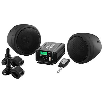 Boss Audio MCBK520B Motorcycle Bluetooth 600W All-Terrain Speaker & Amplifier