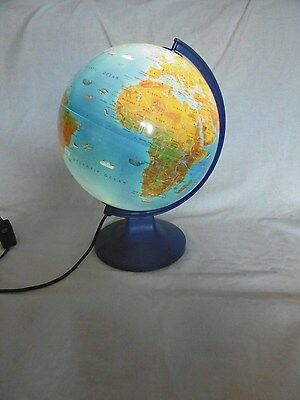 Scan - Globe  Illuminated Geographical World Terrestrial Children's 25Cm Globe