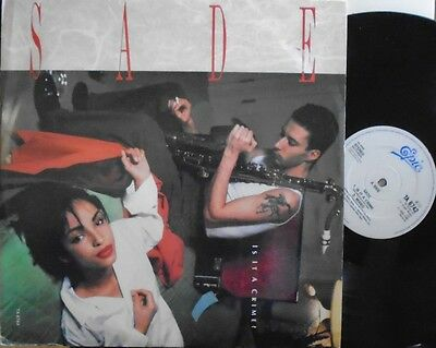 "SADE ~ Is It A Crime ~ 12"" Single PS"