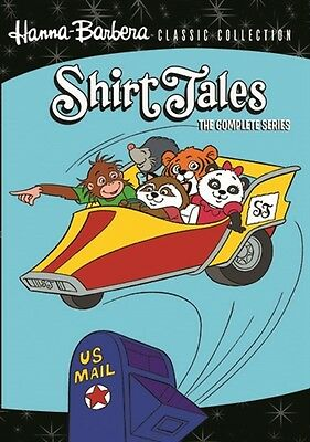 SHIRT TALES COMPLETE SERIES New 3 DVD Set Hanna-Barbera Classic Collection