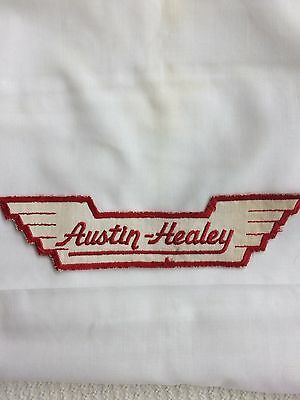 "Vintage AUSTIN-HEALEY ""Wings"" Patch- Sports Cars/ Racing/ Collectible- 8.75"""