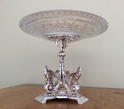 Fabulous Antique Victorian Silver Plated Centrepiece James Dixon & Sons C.1860
