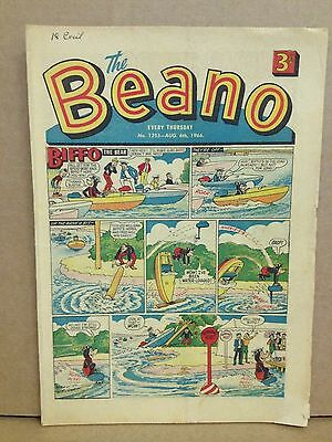 Beano Comic #1255 August 6th 1966. Good Condition More Listed Buy It Now