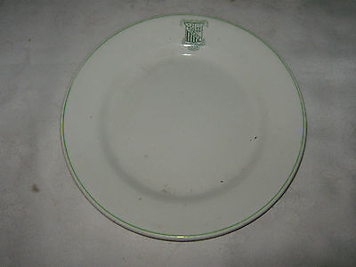 An Old 1920's Ceramic Forbes Marist Brothers College Logo Hotelware Side Plate