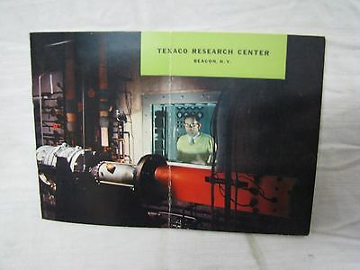 Vintage 1959 TEXACO RESEARCH CENTER in BEACON NY 18 page BOOKLET
