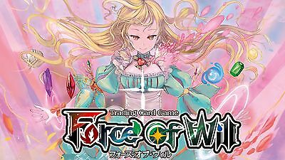FoW Force of Will - The Moonlit Savior TMS - Complete FOIL set w/ full art J/R