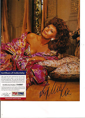 Sophia Loren Signed 8x10 Photo-PSA/DNA COA-Sexy Italian Actress-Academy Award