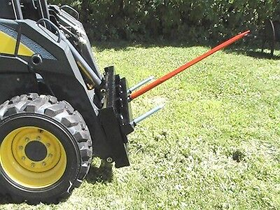 "SkidSteer Hay Bale Spear 39"" BobCat Newholand Type-M"