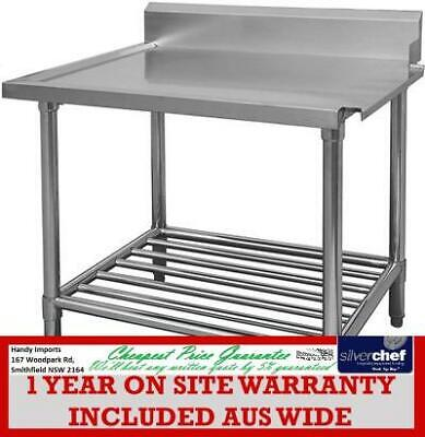 Fed Commercial All Stainless Steel - Right Dishwasher Outlet Bench Wbbd-7-0600R