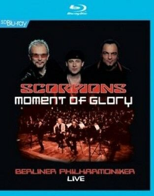 Scorpions/berliner Philharmoniker -Moment Of Glory Live Blu-Ray Pop Konzert Neuf