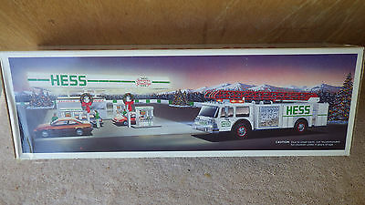 Hess toy fire truck box only