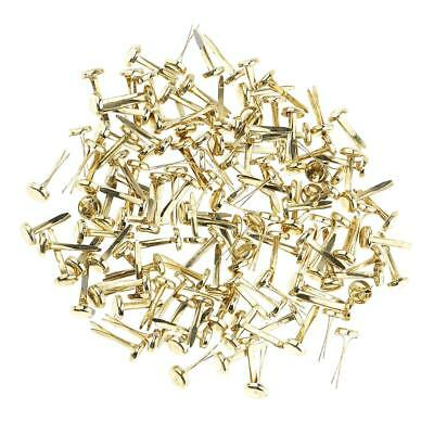 200pcs Split Pins Brads Paper Fasteners for Scrapbooking Embellishment Craft