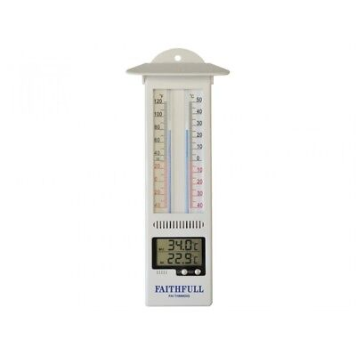 Faithfull Thermometer Digital Max-Min