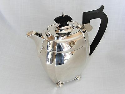 Stylish, Solid Silver, Coffee Pot / Hot Water Jug – Chester 1930