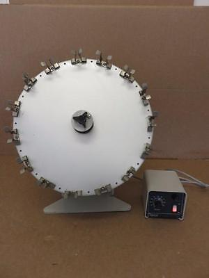 Glas-Col Tissue Culture Rotator w/ 099A RD5512 Variable Speed Controller