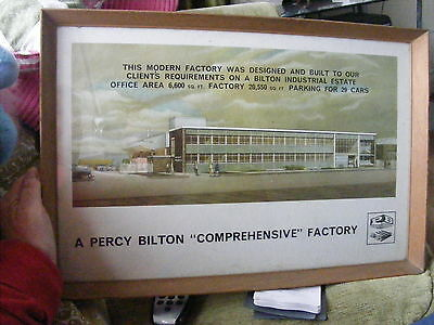 Industrial Factory Framed Print 1960S BY PERCY BILTON