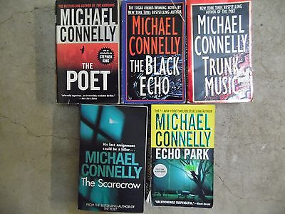 Lot of 5 Michael Connelly Mystery, Thriller, Suspence Paperback Books