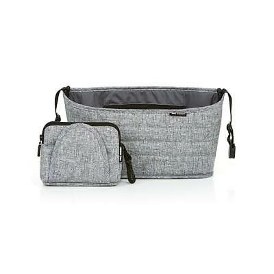 ABC Design Pushchair Organiser (Graphite Grey)