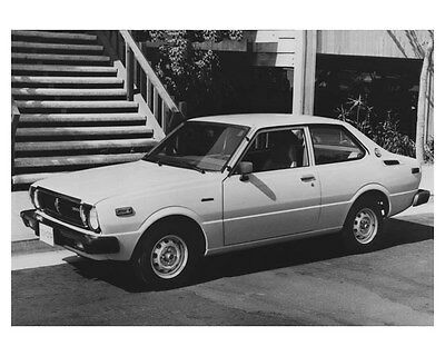 1979 Toyota Corolla Two Door Sedan ORIGINAL Factory Photo och8869