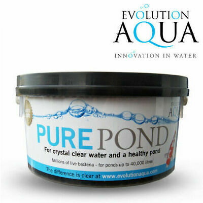 Evolution Aqua Pure Pond Bacteria Balls for Clear Healthy Fish Pond Water 2000ml