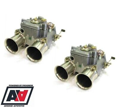 Twin Weber 48 DCO 2SP Pair Of Genuine Carbs From Webcon UK Original ADV