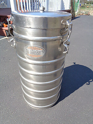 AerVoid Stainless Steel 2X10 Thermal Container Insulated Food Carrier 6.5 Gal