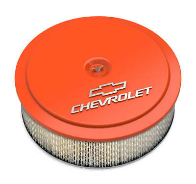 Holley 120-217 GM Muscle Series Air Cleaner - Factory Orange Machined