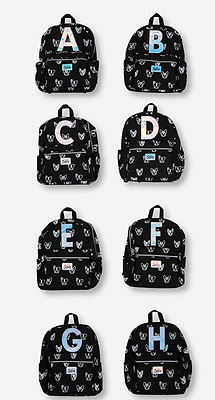 Brand New -Justice Girls' Initial  'B'  Puppy Backpack Book Bag NWT