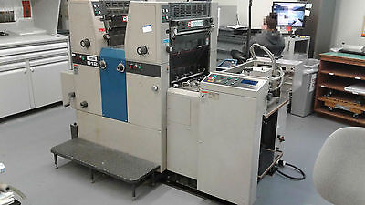 Ryobi 512 Offset Printing Press - 2 Color