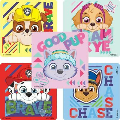 15 Paw Patrol Sports Stickers Party Favors Teacher Supply Jake Chase Skye Rubble