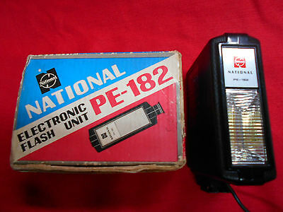 National Electronic Flash Unit Pe 182 Ref20123
