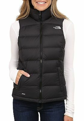 The North Face Nuptse Down Vest In Black Women's Large NEW