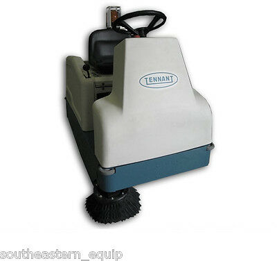 Reconditioned Tennant 6100 Battery Ride-On Sweeper