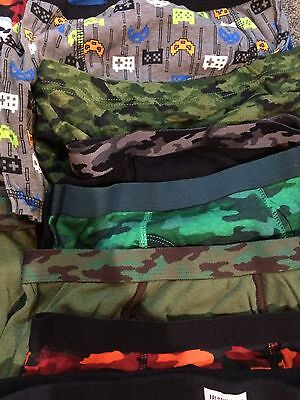 Boys Boxer Brief Underwear Lot Of 25 Size LARGE Hanes Fruit Of The Loom CIRCO